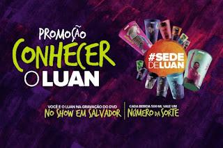 Promoção Habib's Conheça o Luan Santana