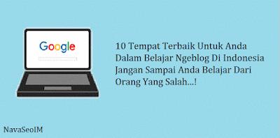 10 Situs Indonesia Terbaik untuk Anda Belajar Ngeblog