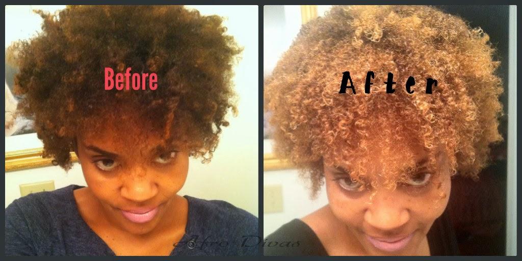 AFRO DIVAS: Shea Moisture Hair Color Review