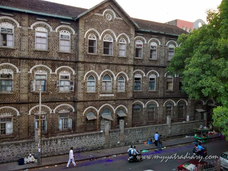 Nana Wada old building heritage in Pune