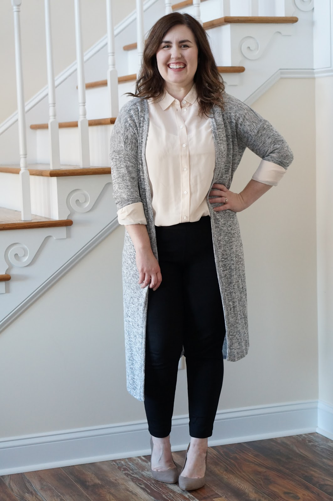 North Carolina style blogger Rebecca Lately shares her review of Everlane's Relaxed Silk Shirt.  Read more here!