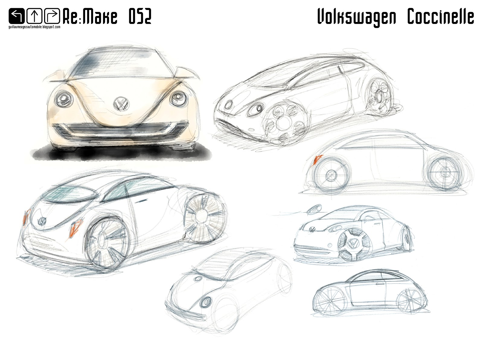 Guillaume Agez Automobile Re Make 052 Volkswagen