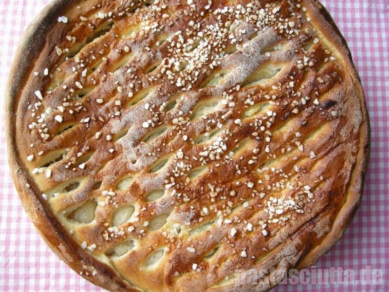 Apfelkuchen mit Gitter | pastasciutta