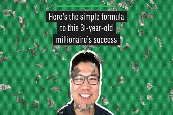Pemuda berusia 31 tahun ini secara resmi menjadi seorang miliarder tahun lalu