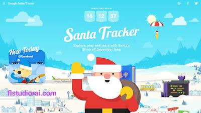 """جوجل قامة بنشر تطبيق Santa Tracker لتتبع """"بابا نويل"""" للاحتفال بالعام الجديد 2019"""