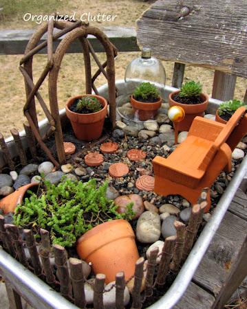 Terracotta & Succulent Miniature Garden