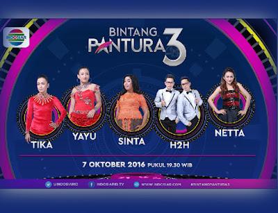 Bintang Pantura 3 Babak 24 Besar Grup 1 Jumat 7 Oktober 2016