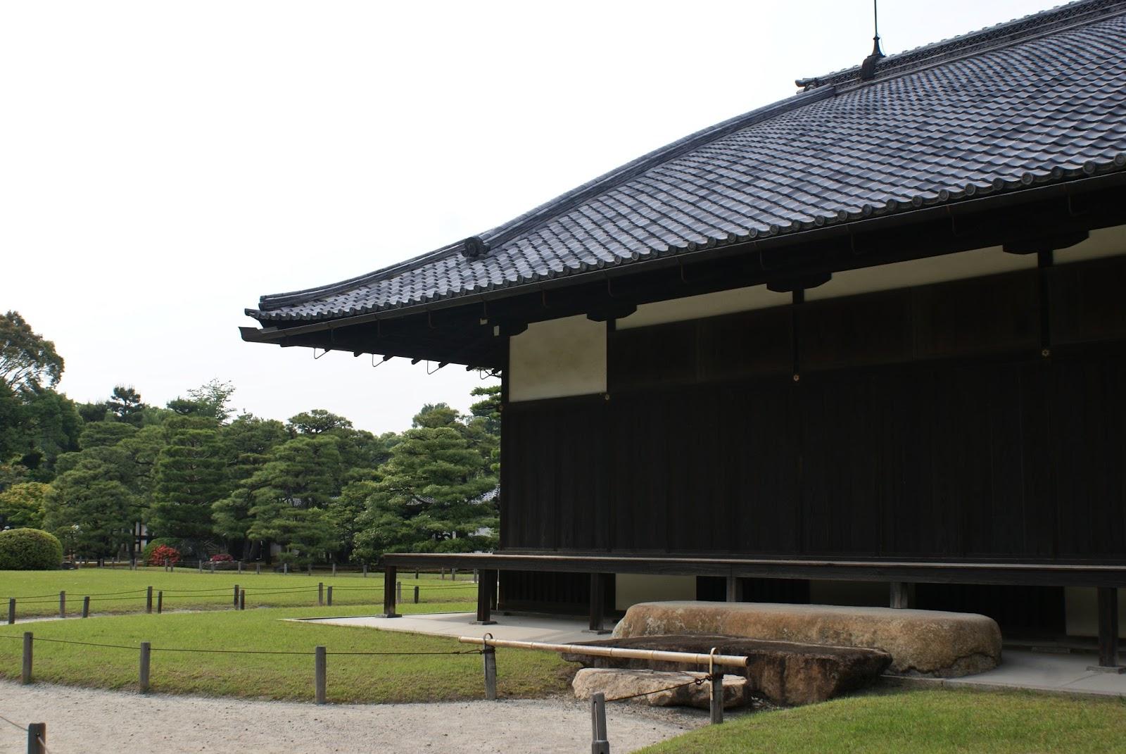 honmaru nijo-jo castle kyoto japan asia