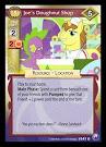 My Little Pony Joe's Doughnut Shop Canterlot Nights CCG Card