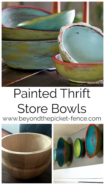 repurpose and upcycle easy to find thrift store bowls