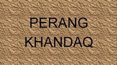gambar perang khandaq