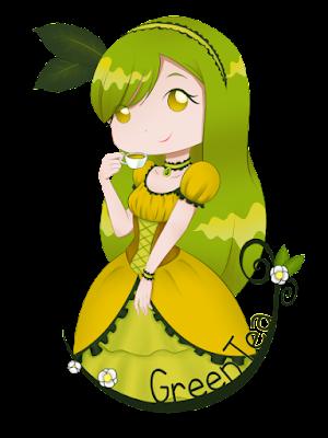 Green Tea Zielona Herbata na kubek