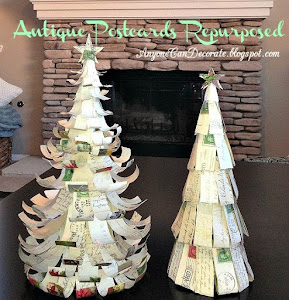 DIY POSTCARD CHRISTMAS TREES