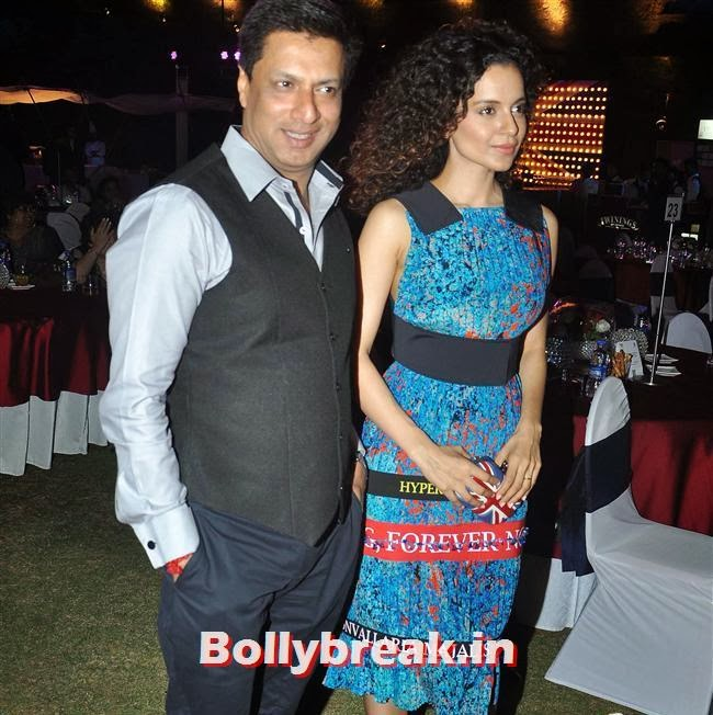 Madhur Bhandarkar and Kangana Ranaut, Kangana Ranaut, Others at Bollywood in Britain App Launch