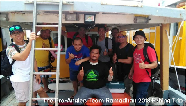 Fishing Trip 'Penutup Ramadhan 2 hari 1 Malam' at Mengalun Waters