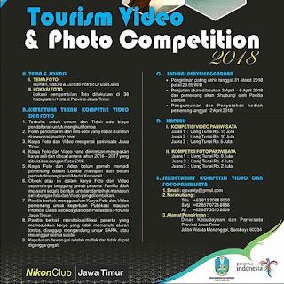 Tourism Fotography dan Video Competiton 2018 by EastJava Trip | Umum | Deadline 31 Maret 2018 | Lomba.co