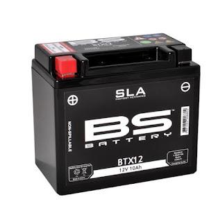Προφορτισμένη Μπαταρία BS Battery SLA BTX12 Για KAWASAKI VERSYS 650 '07 - '17
