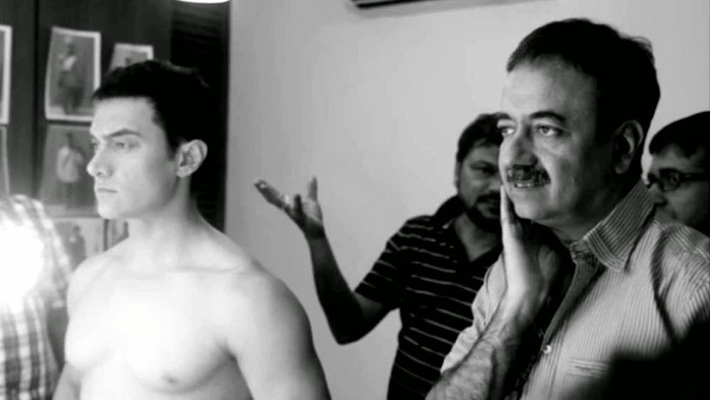 Aamir Khan in less make up for PK (Peekay)