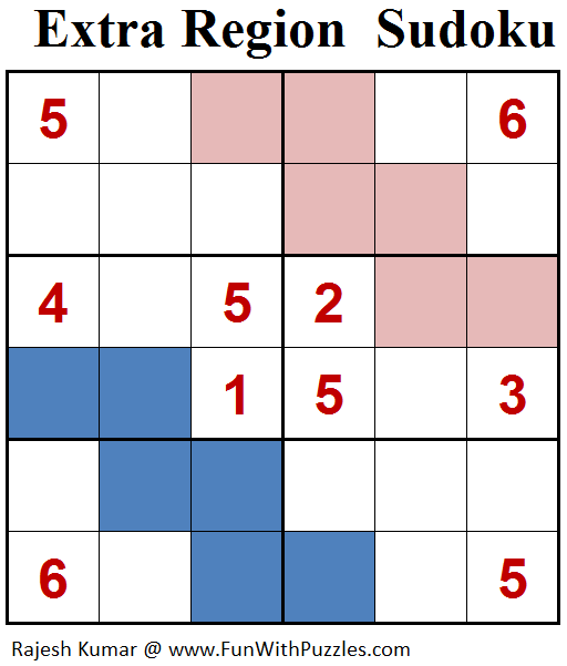 Extra Region Sudoku (Mini Sudoku Series #83)