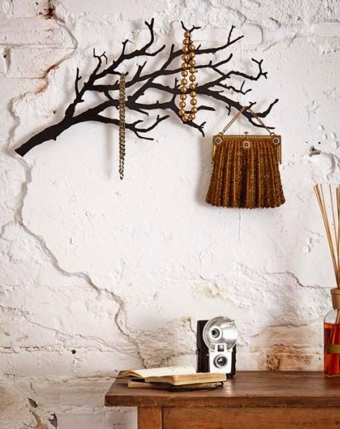 Inspiracje W Moim Mieszkaniu Diy Ozdobne Gałęzie Drzewa
