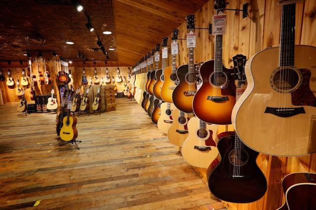 Onde comprar instrumentos musicais em Nova York