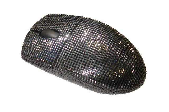 Black Diamond Logitech mouse termahal di dunia
