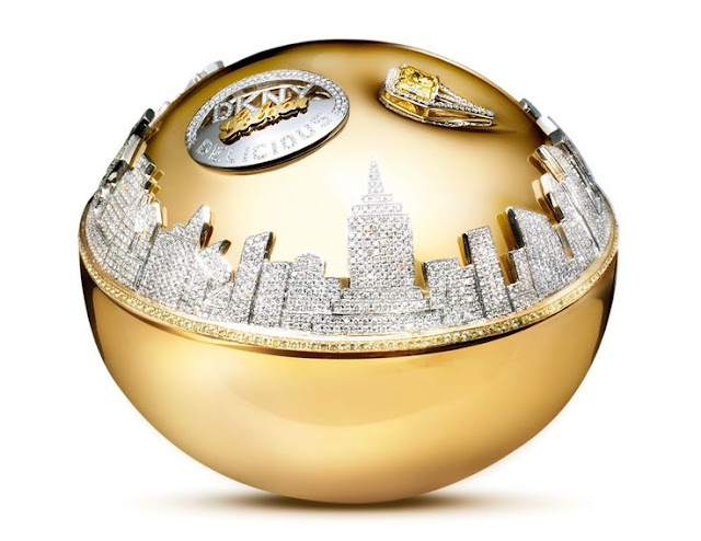 عطر Golden Delicious Million Dollar Fragrance Bottle من DKNY