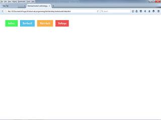 Cara membuat tombol cantik dengan html dan css