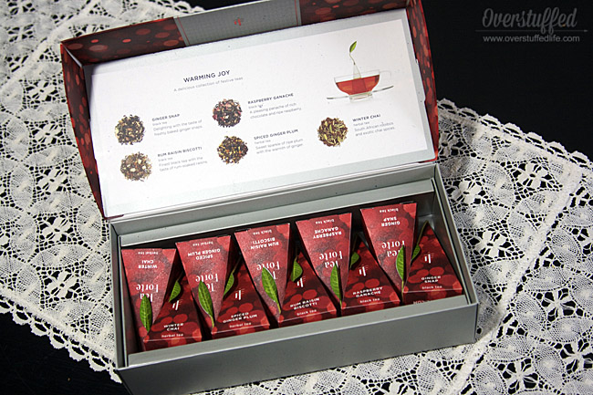 Tea forte warming joy holiday tea collection