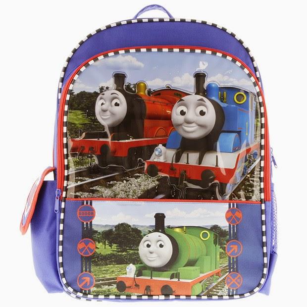 Gambar tas thomas and friends untuk anak