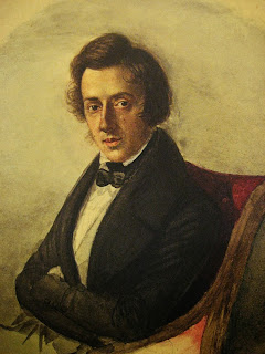 Retrato de Chopin.