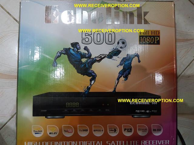 ECHOLINK 500 HD RECEIVER BISS KEY OPTION