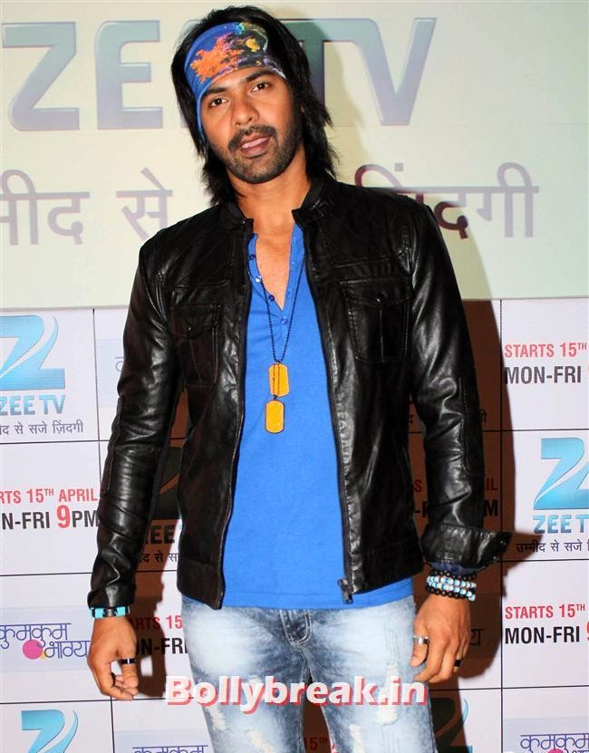 Shabbir Ahluwalia, Ekta Kapoor at Kumkum Bhagya Serial Launch