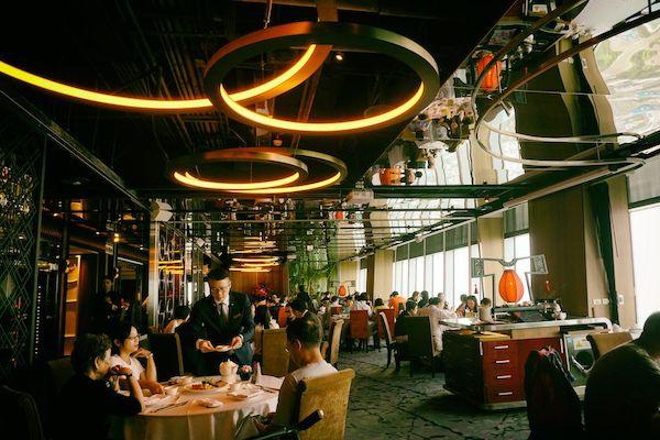 台北101の85階にある欣葉(シンイエ)食藝軒(Shin Yeh Dining)