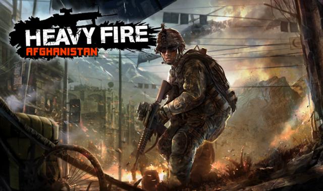 Heavy Fire Afghanistan Portada