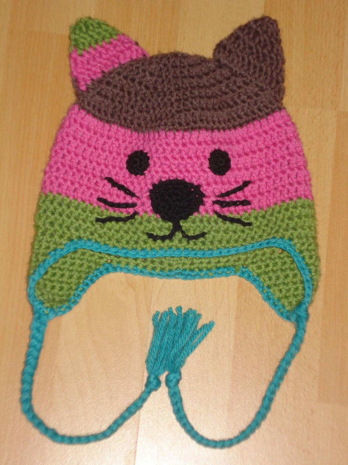 Katzen Mütze Häkeln Anleitung My Blog