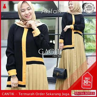 Jual RRJ164D194 Dress Akifah Dress Wanita Ik Terbaru Trendy BMGShop