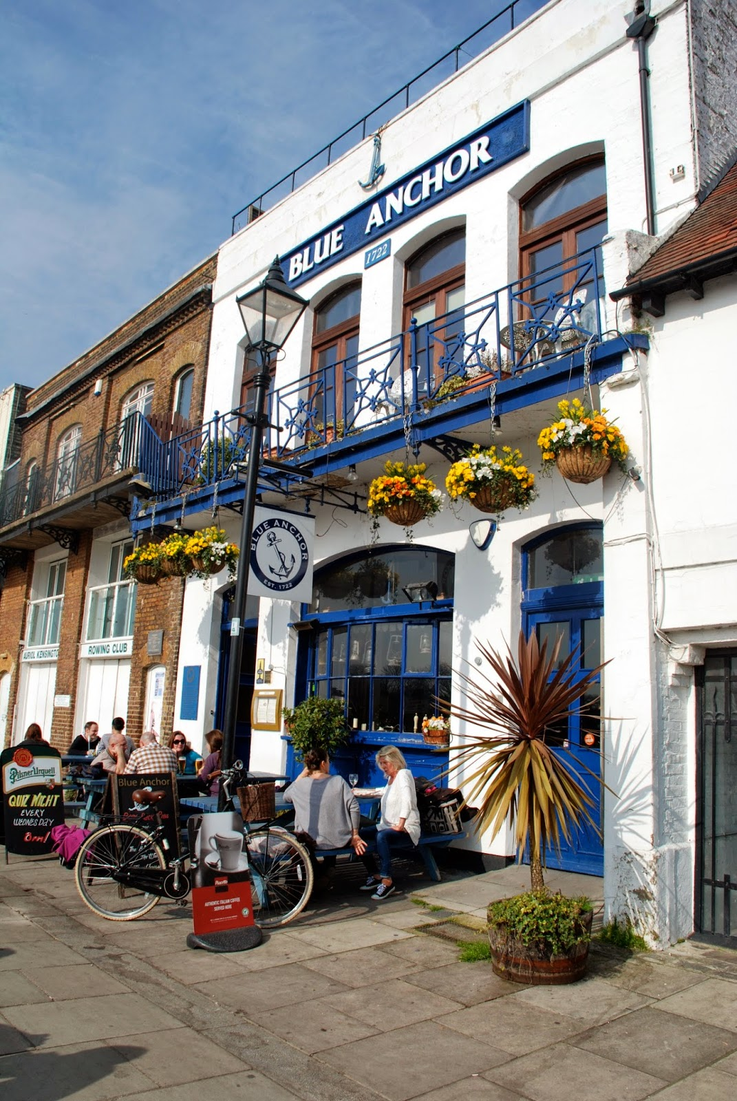 Blue Anchor, Hammersmith, London