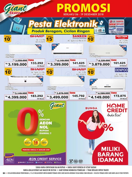 promo giant elektronik
