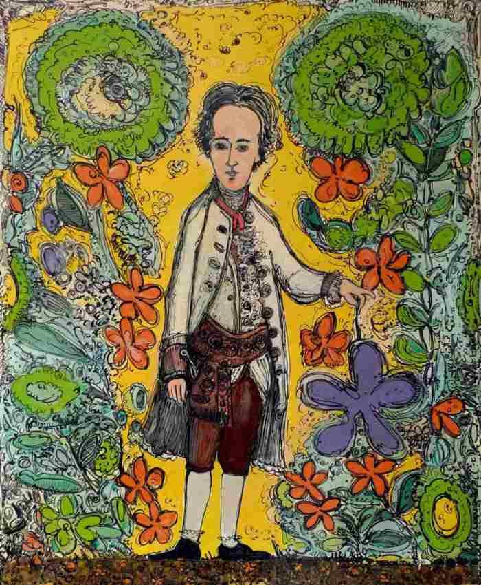 Итальянский художник. Fiorentina Giannotta