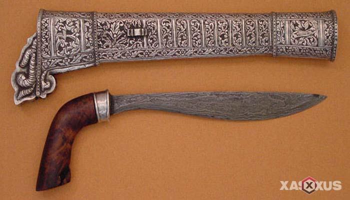 Senjata tradisional Indonesia - Senjata tradisional Bengkulu (Rudus)