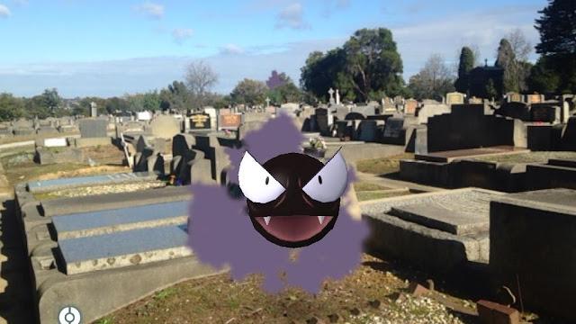 O emissora britânica ABC disse que os jovens que interromperam um funeral em Brisbane estavam jogando Pokémon GO.