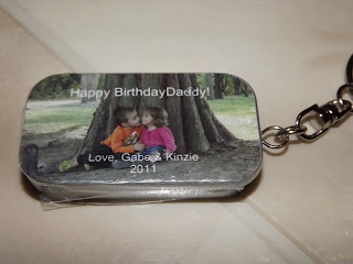 Party Beans Key Chain