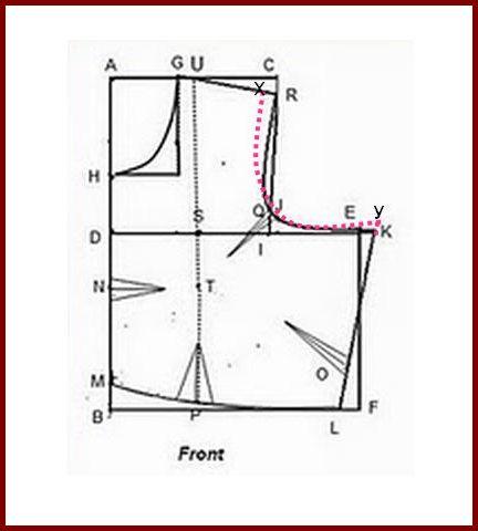 Vani\'s blog 1 : Method of sewing sleeveless blouse