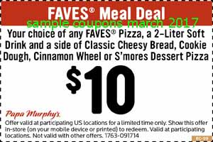 free Papa Murphys coupons for march 2017