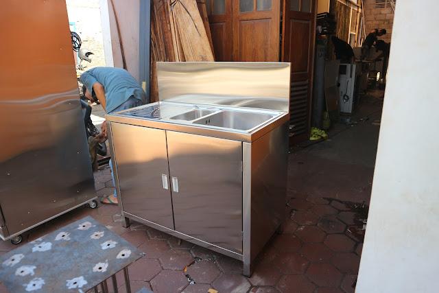 Jual Kitchen Sink Stainless Steel Murah dan Bagus