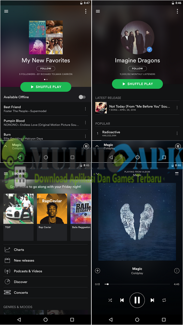 Spotify Music Premium Mod Apk v8.4.18.743 Latest Version