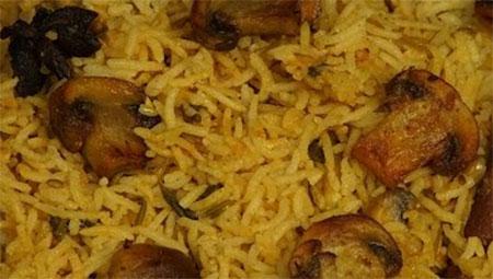 Mushroom Biryani Recipe in Tamil / How to make Mushroom Biryani in Tamil