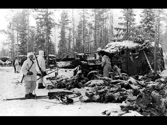 8 January 1940 worldwartwo.filminspector.com Soviet dead Suomussalmi
