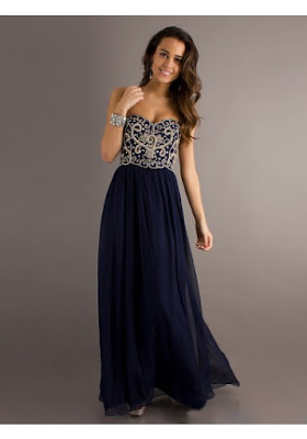 A-line Sweetheart Sleeveless Floor-length Chiffon Prom Dress #WX420